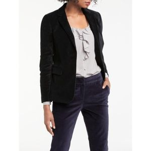 Boden Velvet Single button Emilia Blazer